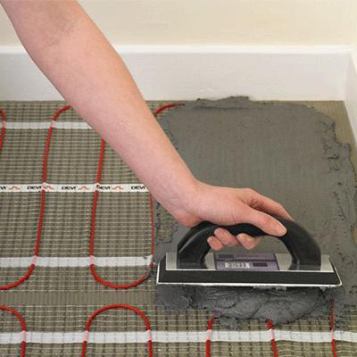 padlófűtés- elektromos fűtőszőnyeg
